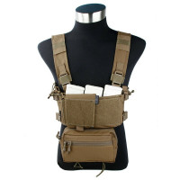 Разгрузочная система Micro Fight Chissis MK3 Chest Rig CB (EmersonGear)