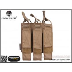Подсумок тройной под магазины Modular Triple MAG Pouch For:MP7/CB500D (EmersonGear)