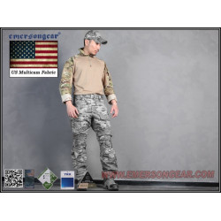 Тактическая рубашка blue label G3 Combat Shirt/Muticam-S (EmersonGear)
