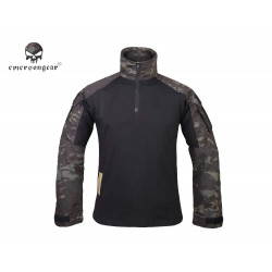Тактическая рубашка blue label G3 Combat Shirt/Muticam Black-L (EmersonGear)
