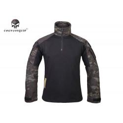 Тактическая рубашка blue label G3 Combat Shirt/Muticam Black-XXL (EmersonGear)