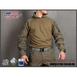 Тактическая рубашка blue label G3 Combat Shirt/RG-XS (EmersonGear)