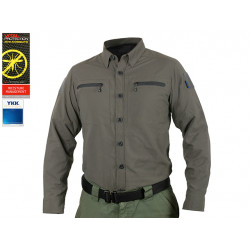 Рубашка Blue Label Defender Tac-Shirt / Gray-L (EmersonGear)