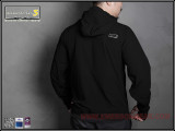 Куртка Softshell Hattori skin windbreaker/BK-L (EmersonGear)