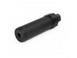 Модель глушителя c дульным тормозом 118mmQD Silencer W/Flash Hider/BK (Big Dragon)