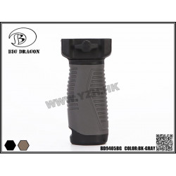 Тактическая рукоятка LS Vertical Front Grip/BK-GRAY (Big Dragon)