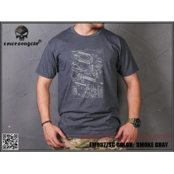 Футболка Military Culture T-Shirt - TYPE E/SG/L (EmersonGear)