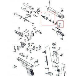 Газовая камера в сборе/KJW KP-23 CYLINDER ASSEMBLY #5-8,10