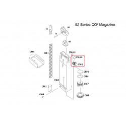 Выпускной клапан магазина CO2+уплотнительное кольцо /KJW M9 CO2 EX VALVE assembly #(CM-5+CM-5-6)