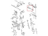 Газовая камера в сборе /KJW KP-01 CYLINDER ASSEMBLY #(11-14)