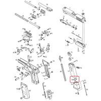 Уплотнительное кольцо для магазина /KJW KP-01 RING O #78