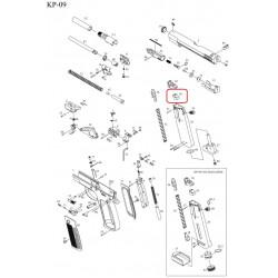Уплотнительная резинка магазина /KJW KP-09 MAG GASKET #39