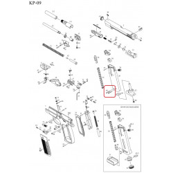 Пины для магазина /KJW KP-09 MAG BOTTOM PIN #59