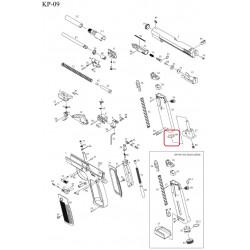 Уплотнительно кольцо для магазина /KJW KP-09 MAG BOTTOM O-RING #88