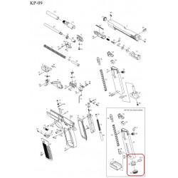 Прокалыватель баллона с уплотнительным кольцом / KJW KP-09 CO2 MAG STAB #(62+62-2)