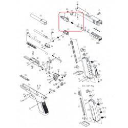 Газовая камера в сборе /KJW KP-17 CYLINDER ASSEMBLY #(5-9)