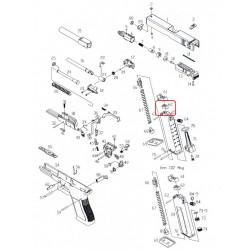 Уплотнительная резинка магазина /KJW KP-17 GASKET M #62