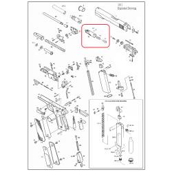 Газовая камера в сборе /KJW 1911 CYLINDER ASSEMBLY #(14-17)