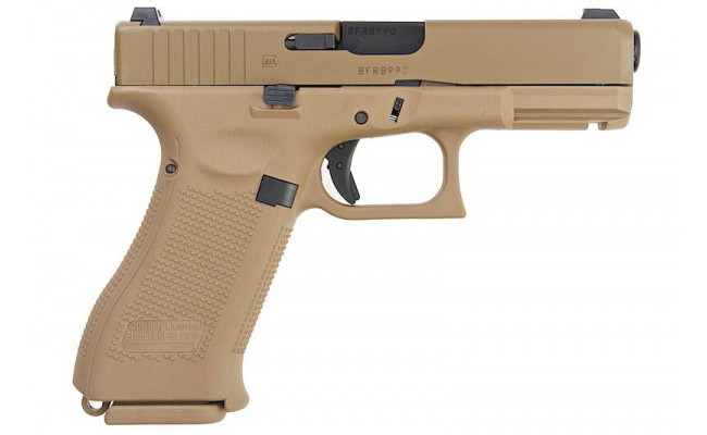 Страйкбольный пистолет G19X Gas Blow Back Pistol l (TN) (VFC)