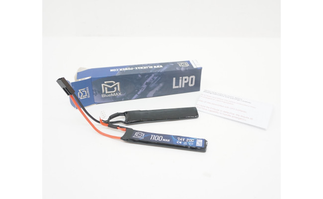 Аккумулятор 1100mAh Lipo 7.4V 20C Nunchuck (BlueMax)