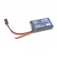 Аккумулятор 1500mAh LiPO 7.4V 20C stick (PEQ/AN-15) (BlueMax)