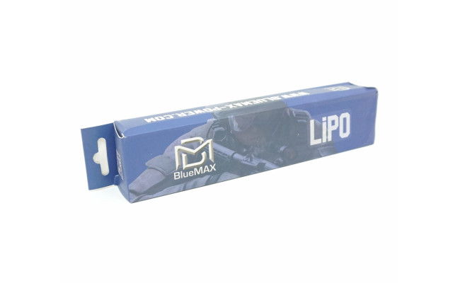Аккумулятор 1200mAh Lipo 11.1V 20C slim stick (BlueMax)
