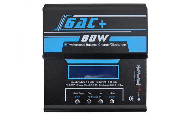 Зарядное устройство I6AC Smart Charger (80W) (BlueMax)