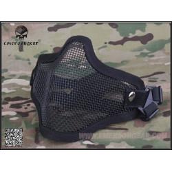 Маска защитная сетчатая на лицо Strike Steel Half Face Mask/BK (EmersonGear)