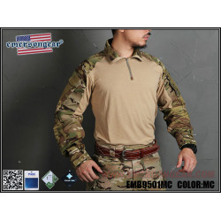 Тактическая рубашка blue label Upgraded version G3 Combat Shirt/Muticam-XL (EmersonGear)