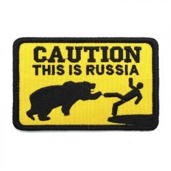 Шеврон Caution :This is Russia