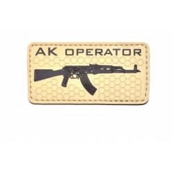 Шеврон АК Operator Tan PVC