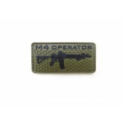 Шеврон M4 operator ПВХ олива