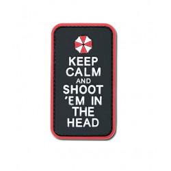 Шеврон Keep Calm & shoot them