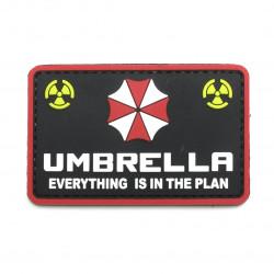 Шеврон Umbrella everything is in the plan PVC
