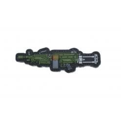 Шеврон M249 ПВХ Большой