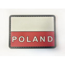 Шеврон Флаг Польша ПВХ