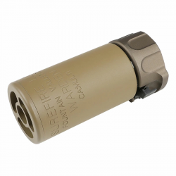Модель глушителя SureFire WARDEN c пламегасителем TN (5KU)