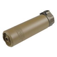 Модель глушителя SureFire SOCOM 5.56-MINI2 c пламегасителем TN (5KU)