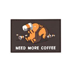 Шеврон Need more coffee