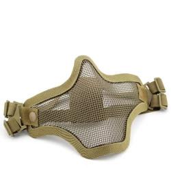 Маска защитная сетчатая на лицо V1 Double-band Scouts Mask Tan (WoSport)