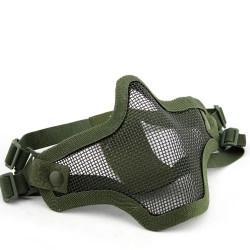 Маска защитная сетчатая на лицо V1 Double-band Scouts Mask OD (WoSport)