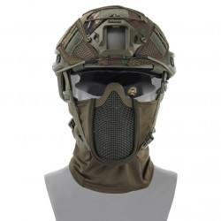 Маска защитная сетчатая на лицо балаклава Shadow Fighter Mask OD (WoSport)