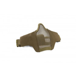Маска защитная сетчатая на лицо WST tactical Glory mask Tan (WoSport)