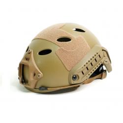 Шлем Umbrella Helmet - High Version - PJ-type Round Hole Tan (WoSport)
