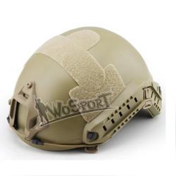 Шлем Combat Helmet - Standard Version - MH-type Nonporous Tan (WoSport)