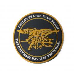 Шеврон Navy Seal круг PVC