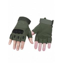 Перчатки реплика Oakley без пальцев олива размер L