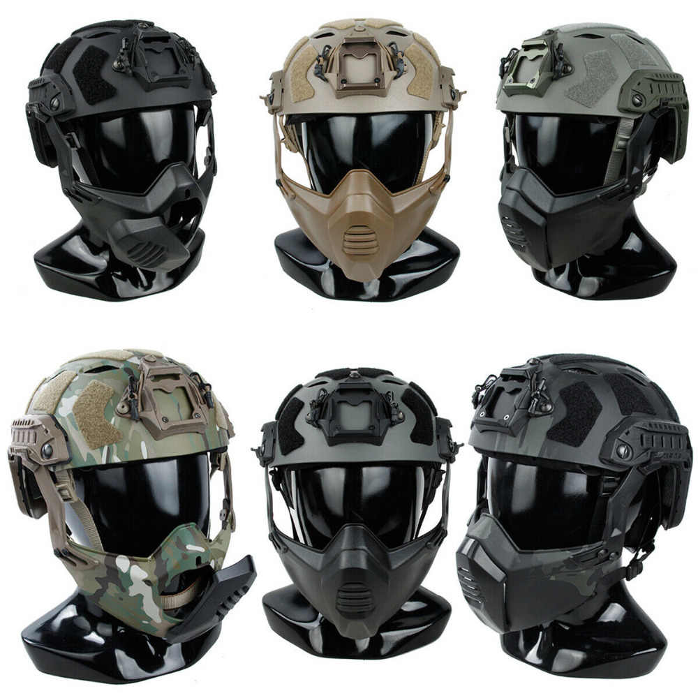 Тактические шлемы для страйкбола купить